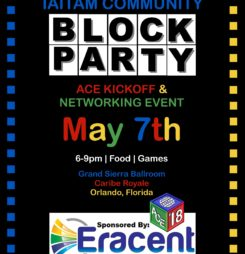 WE'LL SEE YOU AT THE IAITAM COMMUNITY BLOCK PARTY
